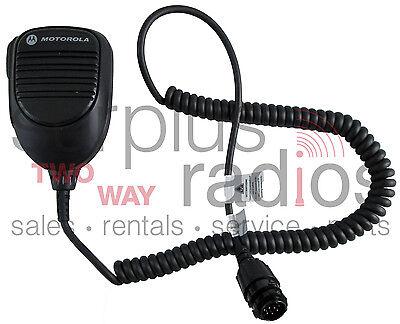 New Oem Motorola Mic Rmn5053a Mobile Xpr4300 Xpr4350 Xpr4500 Xpr4550 Trbo