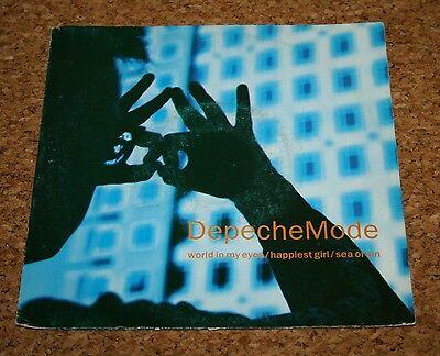 Single Vinyl Depeche Mode World in my eyes Indisc Belgium SABAM Bong 46020