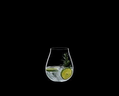 4 Riedel GinO Clock, Gin Tonic Gläser 541467 , Gin Set