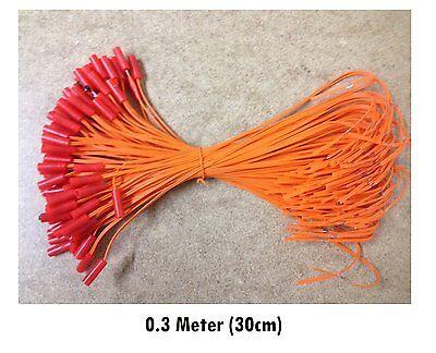 100Pcs  Lot 0 3M Electric Igniters E Match 0 45Mm Copper Fireworks Firing System