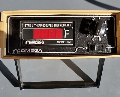 Omega Model 650-jf-dss Thermocouple Thermometer