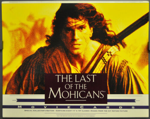 LAST OF THE MOHICANS 1992 ORIGINAL 11X14 MINT LOBBY CARD SET DANIEL DAY LEWIS