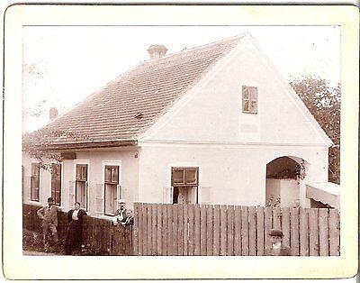 CAB photo Häuseransicht - Österreich 1900er