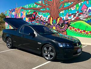 2012 Phantom Black Holden Ute SV6 Thunder VE Series II Manual Baldivis Rockingham Area Preview