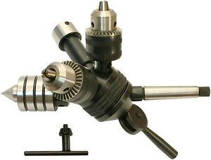 60013 GG-Tools  Revolverkopf & Zubehör 4 tlg. Schaft MK2