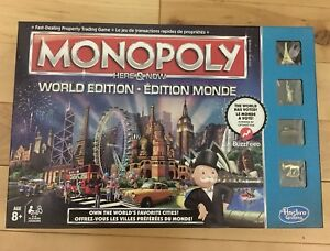 Monopoly (World Edition) Board Game