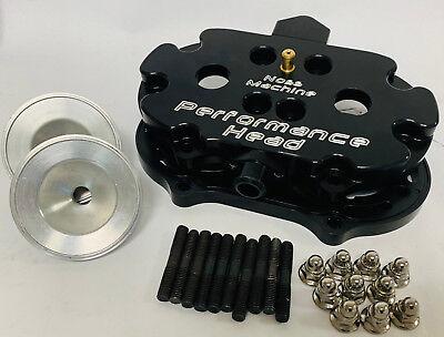 Modquad Billet Cylinder Cool Head Yamaha Banshee YFZ350 YFZ 350 87-06 CH-1 Black