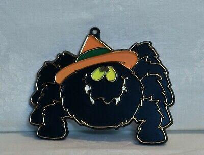 Hallmark Vintage Painted Plastic Cookie Cutter - Silly Spider w/ Hat Halloween