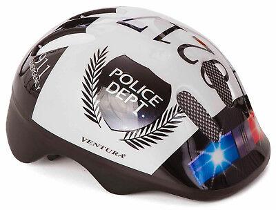 Polizei Police Polizeihelm Fahrradhelm Kinderhelm Helm 52-56 Radhelm 731004