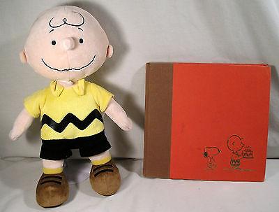 1979 1st Ed.Book Happy Birthday Charlie Brown, Kohls Charlie Brown Stuffed Plush ()