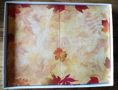 Fall Impressions Border Paper for Programs Bulletins Wedding 62 Sheets