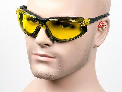 Mgsafety Falcon Yellowblue Foam Pad Gasket Safety Glasses Sun Motorcycle Z87