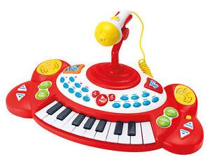 Musik- & Instrumente-Spielzeug Kinder Keyboard Superstar mit 18 Tasten und Soundeffekten günstig kaufen