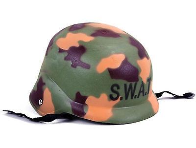 Spezialeinheit Polizei SWAT Helm Soldatenhelm, Tarnfarben Design Neu + OVP ! (Einheit Soldat Kostüm)
