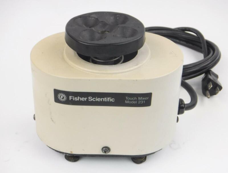 Fisher Scientific Model 231 Vortex Touch Mixer TESTED WORKING