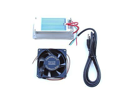 3.5 gr/hr Moisture Proof Ozone Kit w/a pre-soldered & mounted element &120mm Fan
