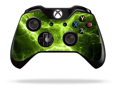 Green Electric Xbox One Remote Controller/Gamepad Skin / Cover / Vinyl  xb1r27
