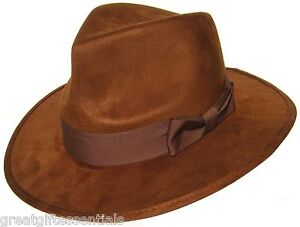 DOCTOR-WHO-HAT-Fourth-4th-Dr-Fedora-Brown-Jones-Tom-Baker-Costume-BBC-LICENSED