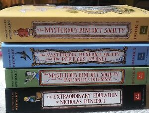 The mysterious Benedict society box set books 1-4