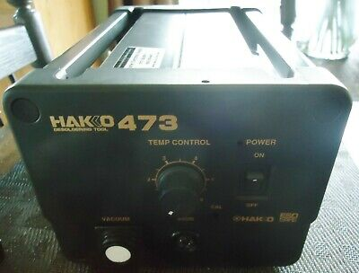 Hakko 473 Desoldering Tool No. 473-1. Power Ac 120v-70w 60 Hz. Made In Japan