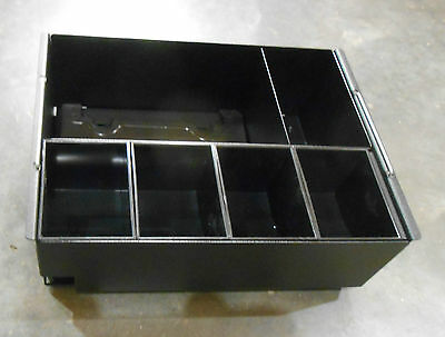 Flexi Cash Drawerbox Insert Metal Black9w X 7-18d X 3h S-2