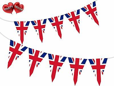 British Union Jack Theme Bunting Banner Stylish party decoration by PARTY DECOR  - British Themed Party Decorations