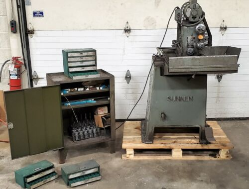Sunnen MBH-1290D, Precision Honing Machine Lots Of Tooling SEE VIDEO