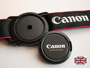 Lens-Cap-Holder-Buckle-Keeper-for-Canon-52mm-58mm-67mm-size-Nikon-Sony-Pentax-UK