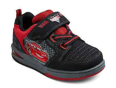 NWT Boy's Cars Light Up Shoes Disney Sizes 5 Kids