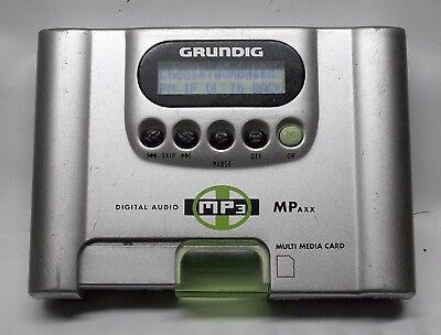 GRUNDIG DIGITAL AUDIO MP3 PLAYER  (NO ACCESSORIES) - MPAXX