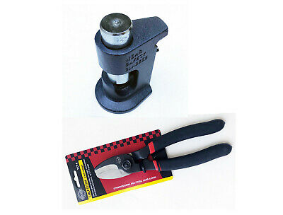 Large Gauge Hammer Crimper Tool 10 To 8 Gauge Awg Quality 8 Cable Cutter