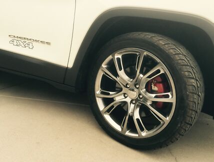Jeep Cherokee wheels and tyres for $1250