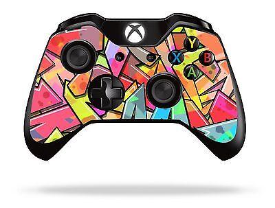 Graffiti Colours Xbox One Remote Controller/Gamepad Skin / Cover / Vinyl  xb1r26