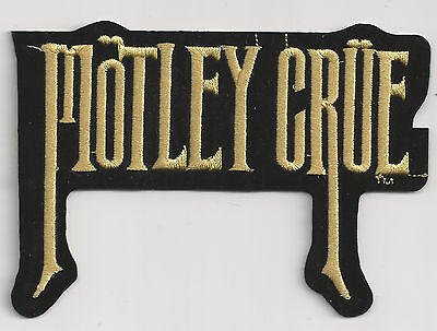 MOTLEY CRUE - LOGO - IRON or SEW ON PATCH