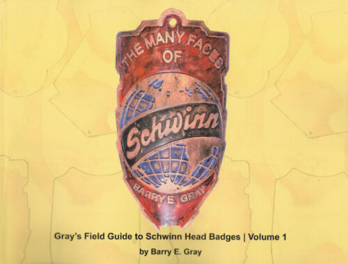 Schwinn head badge book, The Many Faces of Schwinn, prewar Schwinn Head Badges
