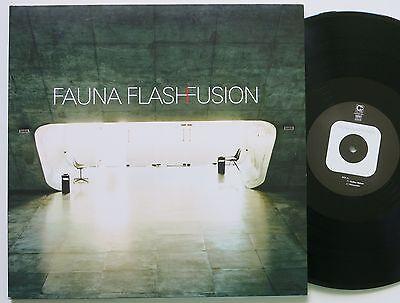 FAUNA FLASH FUSION ORIG COMPOST FUTURE JAZZ / DUB 2 LP 2001 MINT-