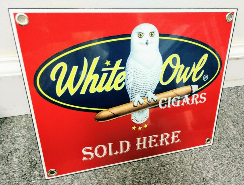 White Owl Cigars Cigar tobacco Sign