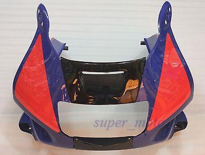 Front fairing nose Plastic Head Cowl Fit For Honda CBR600 F2 1991-1994 1992 1993