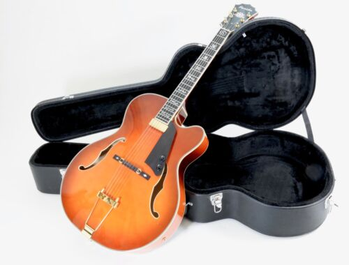 Farida FA17-SP-FP hollow body Jazz Guitar... Honey Sunburst
