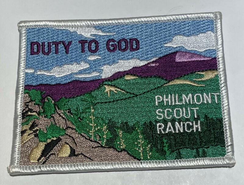 Philmont Scout Ranch Duty to God Patch Boy Scout TK5