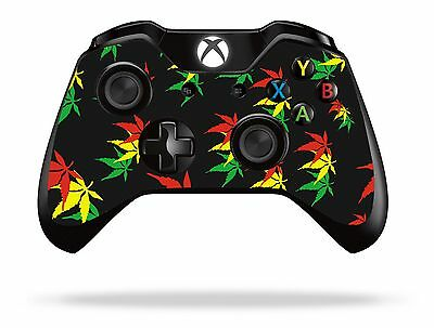 Weed Leaf Xbox One Remote Controller/Gamepad Skin / Cover / Vinyl  xb1r36