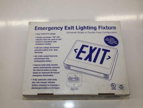 2 PCS EXIT SIGN LIGHT EZXTEU2RWEMRC-HTR