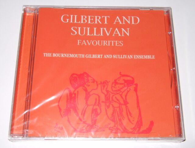 Gilbert & Sullivan Favourites - The Bournemouth G & S Ensemble (CD, 2007) new