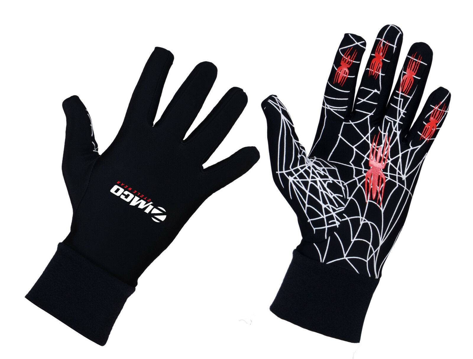 Zimco Winter Cycling Windproof Gel Gloves Thermal Insulated Bike Running