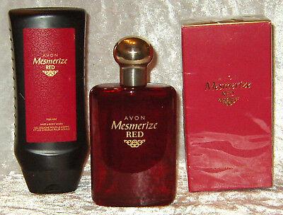 Avon Mesmerize RED Set für Ihn EdT 100 ml & Duschgel 250 ml Orientalischer Duft