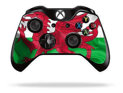 Wales Flag Xbox One Remote Controller/Gamepad Skin / Cover / Vinyl  xb1r35