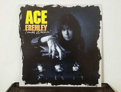 KISS Ace Frehley Trouble Walkin' Vinyl LP Record Original US Pressing (1989)