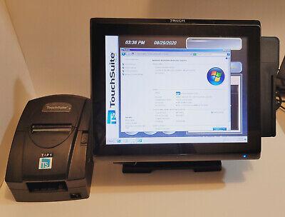 Touch Dynamic Pulse J1900 Pos System W Printer