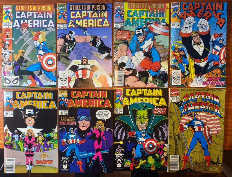 Captain America Lot Issues 376-400! Includes 50th Anniv! NM! John Walker! Falcon
