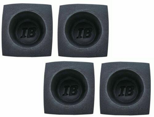 "Speaker Baffles Universal 6.5"" Black Round Foam Bass Reflex Acoutstic Car Audio"